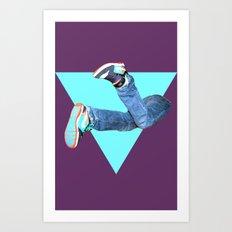 Pumped Up Kicks Art Print