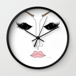 Pageant Glare Wall Clock