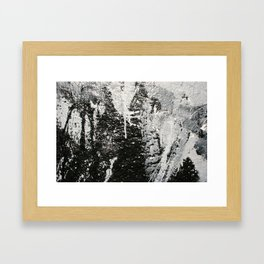 Spray Paint Framed Art Print