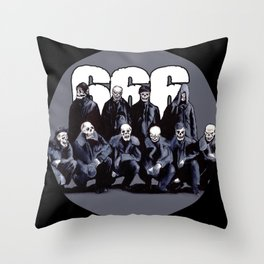 SQUAD 666: Bastard Sons of Satan Throw Pillow