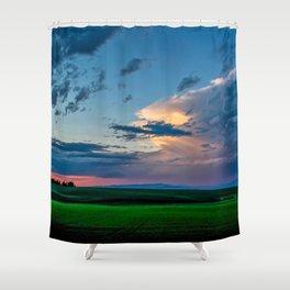Montana Sunset Shower Curtain
