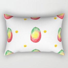 Watercolor mango Rectangular Pillow