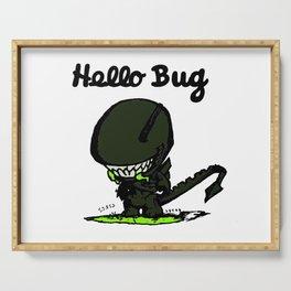 Hello Bug Serving Tray