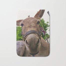 DONKEY WHY THE LONG FACE? Bath Mat