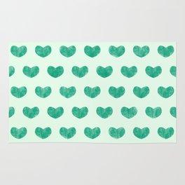 Cute Hearts V Rug