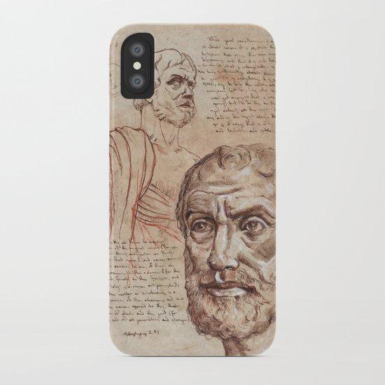 Aristotle iPhone Case