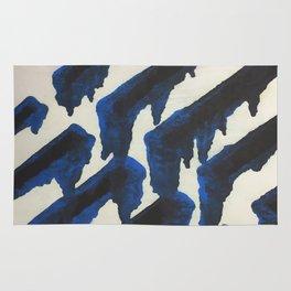Blue Print Rug