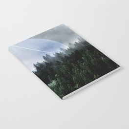 Foggy Woods 3X Notebook