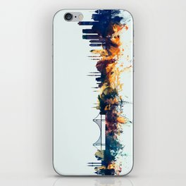Istanbul Turkey Skyline iPhone Skin