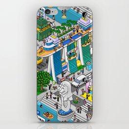 Pixels X Singapore iPhone Skin