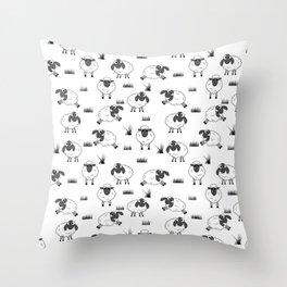 Sheep Neck Gaiter Sheep Neck Gator Throw Pillow