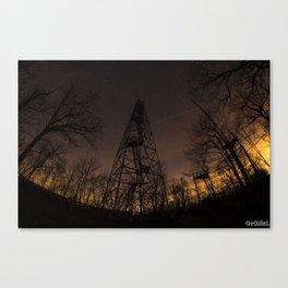 Ninham Fire tower Canvas Print