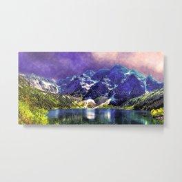 Morskie Oko Poland Lake Tatra Metal Print