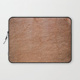 Red orange rock textured background with cracks Laptop Sleeve
