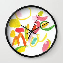 Abstract Landscape 1 Wall Clock