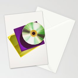Lo-Fi goes 3D - The Compact Disc Stationery Cards