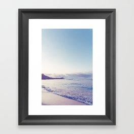 beach time ver.pink Framed Art Print