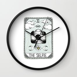 The Selfie Wall Clock