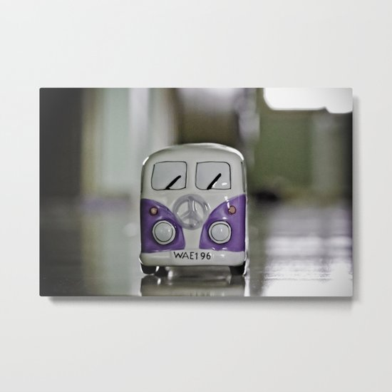 Purplewagen Metal Print