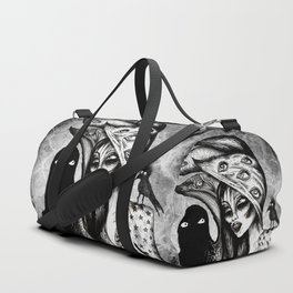 Dialogue With A Demon Duffle Bag