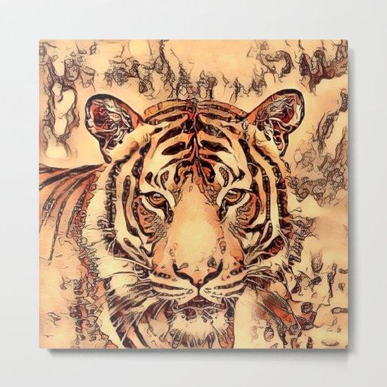 Animal ArtStudio- amazing Tiger Metal Print