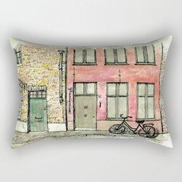 In Bruges Rectangular Pillow