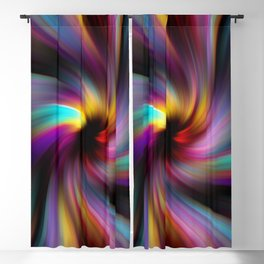 Abstract Fractal Background 6 Blackout Curtain