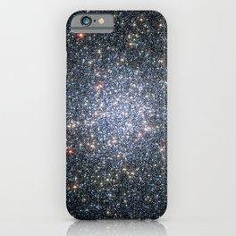 Globular cluster 47 Tucanae,  NGC 104  in the constellation Tucana iPhone Case