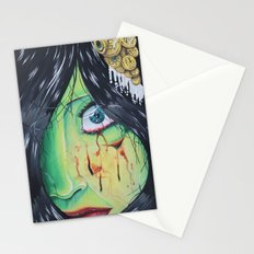 The accident  Stationery Cards