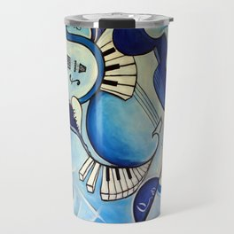 Reves Bleus (blue dreams) Travel Mug