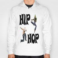 hip hop Hoodies featuring Hip Hop by ezmaya
