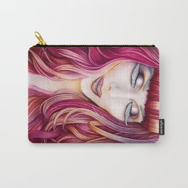 Red From My Heart Carry-All Pouch