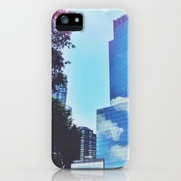 Mirrors show only sky iPhone Case