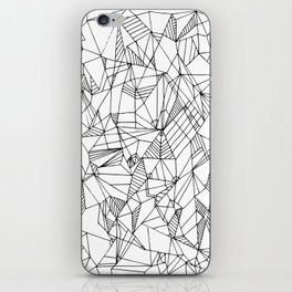 Abstract Lines- Abstract Art, Home Decor,Handmade Minimalist Prints, Digital Print,Art Pattern Print iPhone Skin