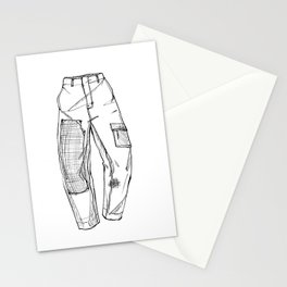 Trousers Stationery Cards