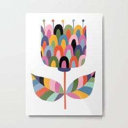 Big Flower Metal Print