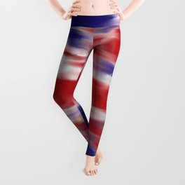 HAZY UNION JACK FLAG Leggings
