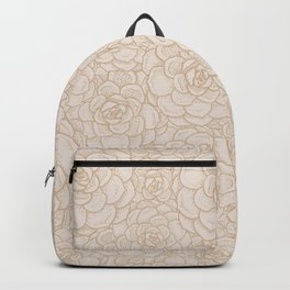 Sand and Succulents Backpack