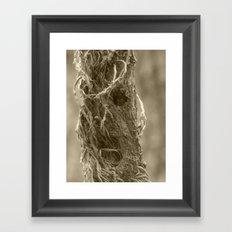 terror vine Framed Art Print