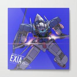 FBA - Exia Metal Print
