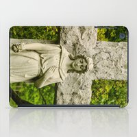 religious iPad Cases featuring Religious Statue by Michael P. Moriarty