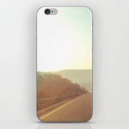 Traveling Unknown Roads iPhone Skin