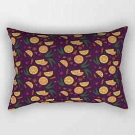 Mulled Wine Rectangular Pillow