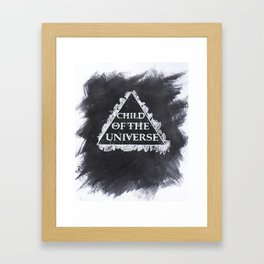 Child of the Universe  Framed Art Print