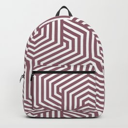 Raspberry glace - violet - Minimal Vector Seamless Pattern Backpack