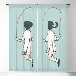 Rope skipping Blackout Curtain