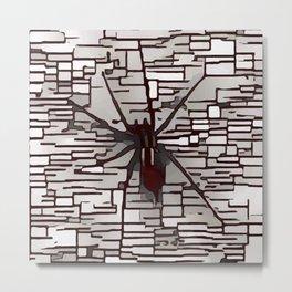Arachnid Awaiting Metal Print