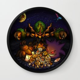 A treasure for Halloween Wall Clock