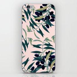 Olive Branch Pattern #society6 #decor #buyart iPhone Skin