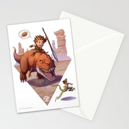 Hunt or be hunted... Stationery Cards